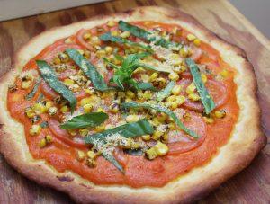 creamy sun dried tomato pizza