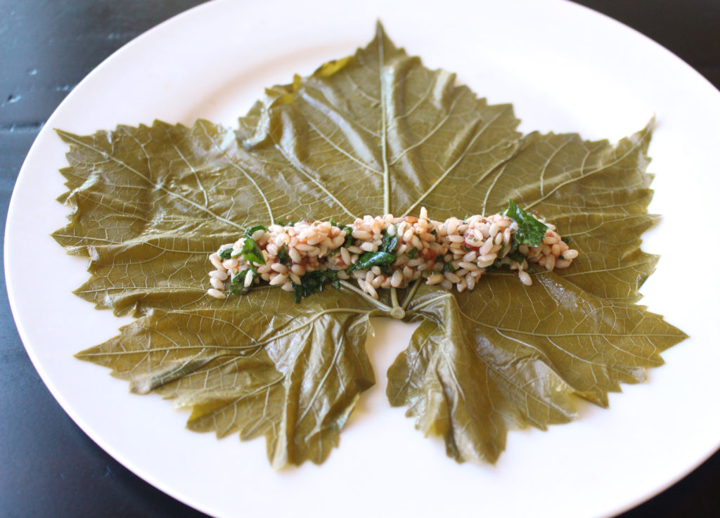 Authentic Yalanji Dolmas Stuffed Grape Leaves With Rolling Tutorial Vegan Gf Zen And Zaatar